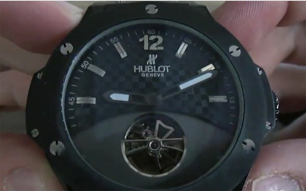Hublot Big Bang Tourbillon replica orologio
