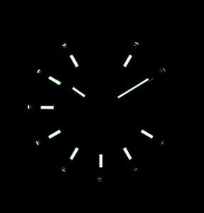 Come sempre con Rolex Replica, la leggibilità è eccellente, giorno e notte!