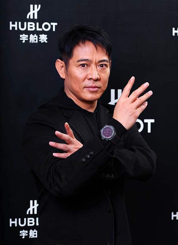 Hublot ambasciatore Jet Li Asia