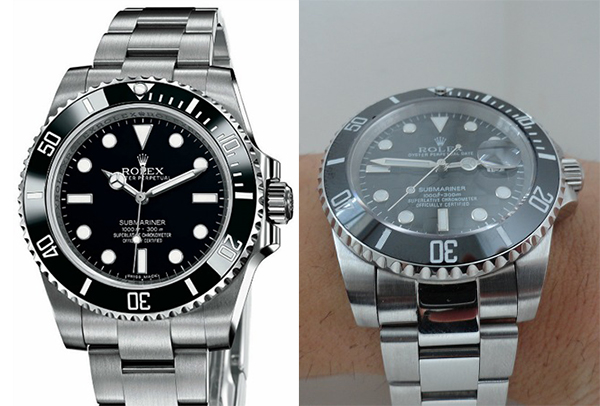 Differenze tra Rolex Submariner Replica vs Real Two Tone