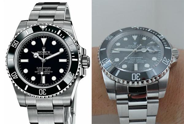 Differenze tra Rolex Submariner Replica vs Real Two Tone