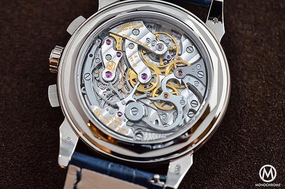 Replica Orologi Patek Philippe Perpetual Calendar Chronograph 5270 Blu- indietro