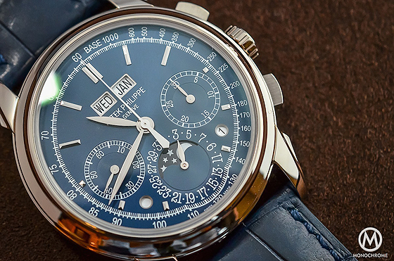 Replica-Orologi-Patek Philippe-Perpetual-Calendar-Chronograph-5270-Blu