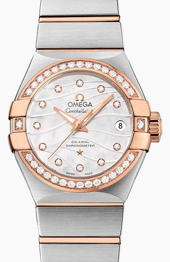 affascinante diamanti orologi Omega Constellation replica italia