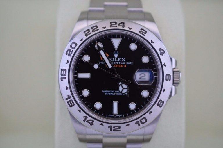 Acciaio 42 millimetri Rolex Explorer II