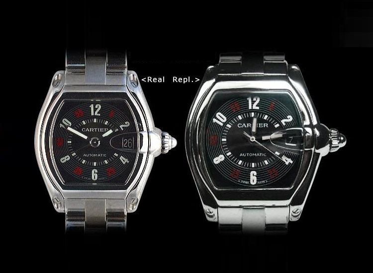 cartier roadster falso vs reale