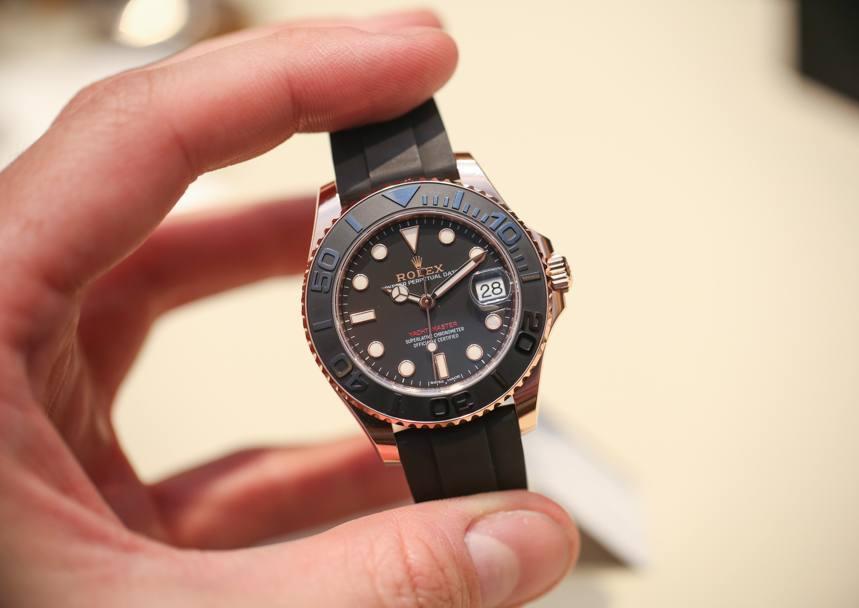 rolex yacht master 116655 268655 oro everose replica orologi in ceramica
