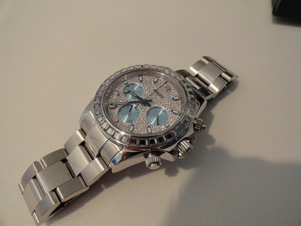Rolex Daytona Diamanti Replica Svizzeri