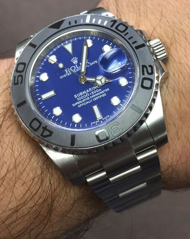 OrologioReplicaItalia-Submariner-Blue-Dial