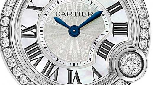 Un brillante replica orologio Cartier, orologi falsi, orologio falso, replica Cartier, Cartier Ballon Bianco