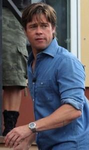 Brad-Pitt-Indossa-Patek-Philippe-Nautilus-Replica