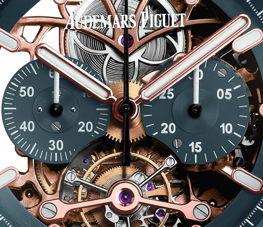 Repliche Audemars Piguet Royal Oak Tourbillon Chronograph Openworked