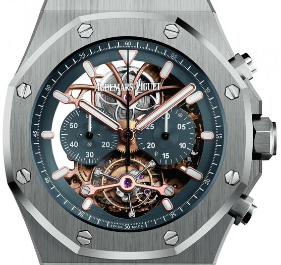 Repliche-Audemars-Piguet-Royal-Oak-Tourbillon-Chronograph-Openworked