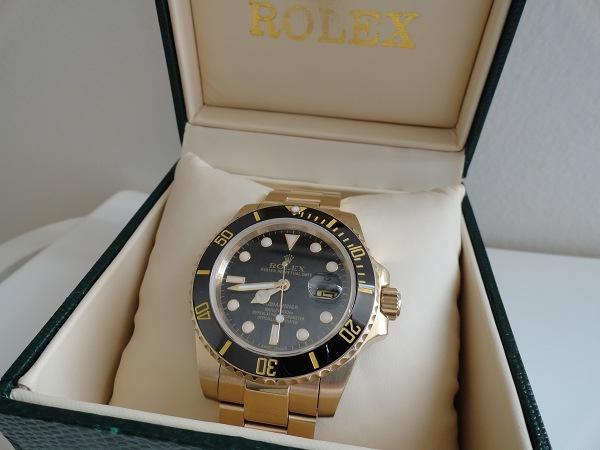 Le Repliche Rolex Sono Troppo Oro
