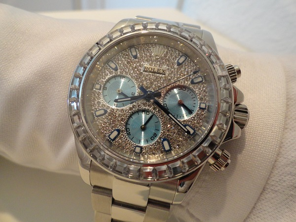 Rolex Daytona Diamonds Replica Orologio Da Polso