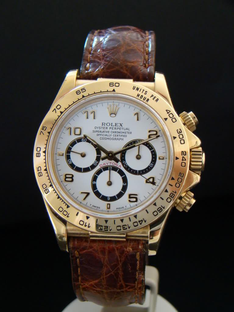 Rolex Daytona Orologio Replica In Oro Giallo