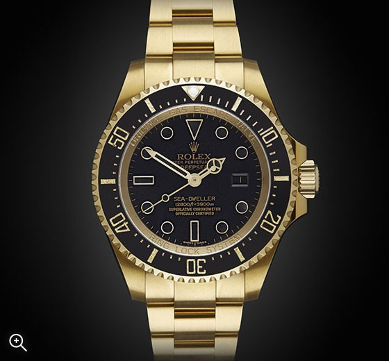 Rolex-DeepSea-Oro