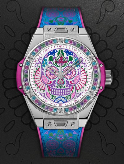 repliche-hublot-big-bang-one-click-calavera-catrina-1