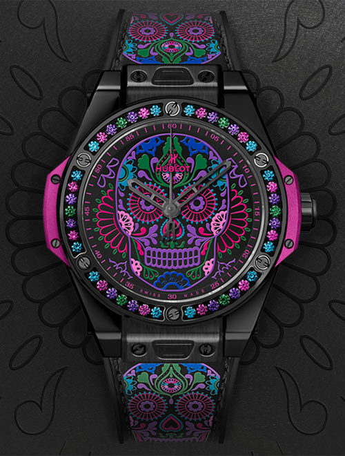 repliche-hublot-big-bang-one-click-calavera-catrina-2