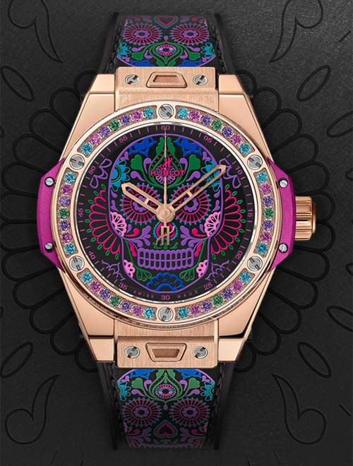 repliche-hublot-big-bang-one-click-calavera-catrina-3