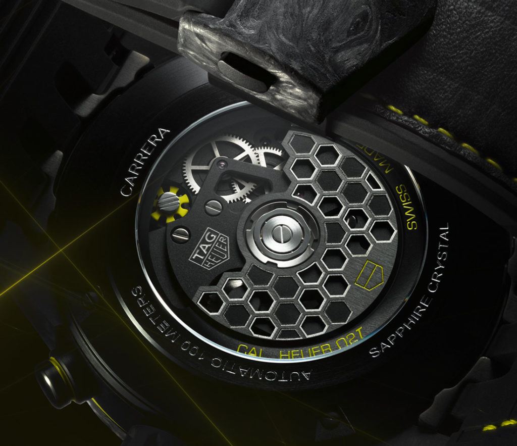 TAG Heuer Carrera Calibre Heuer 02T Tourbillon Nanograph Replica
