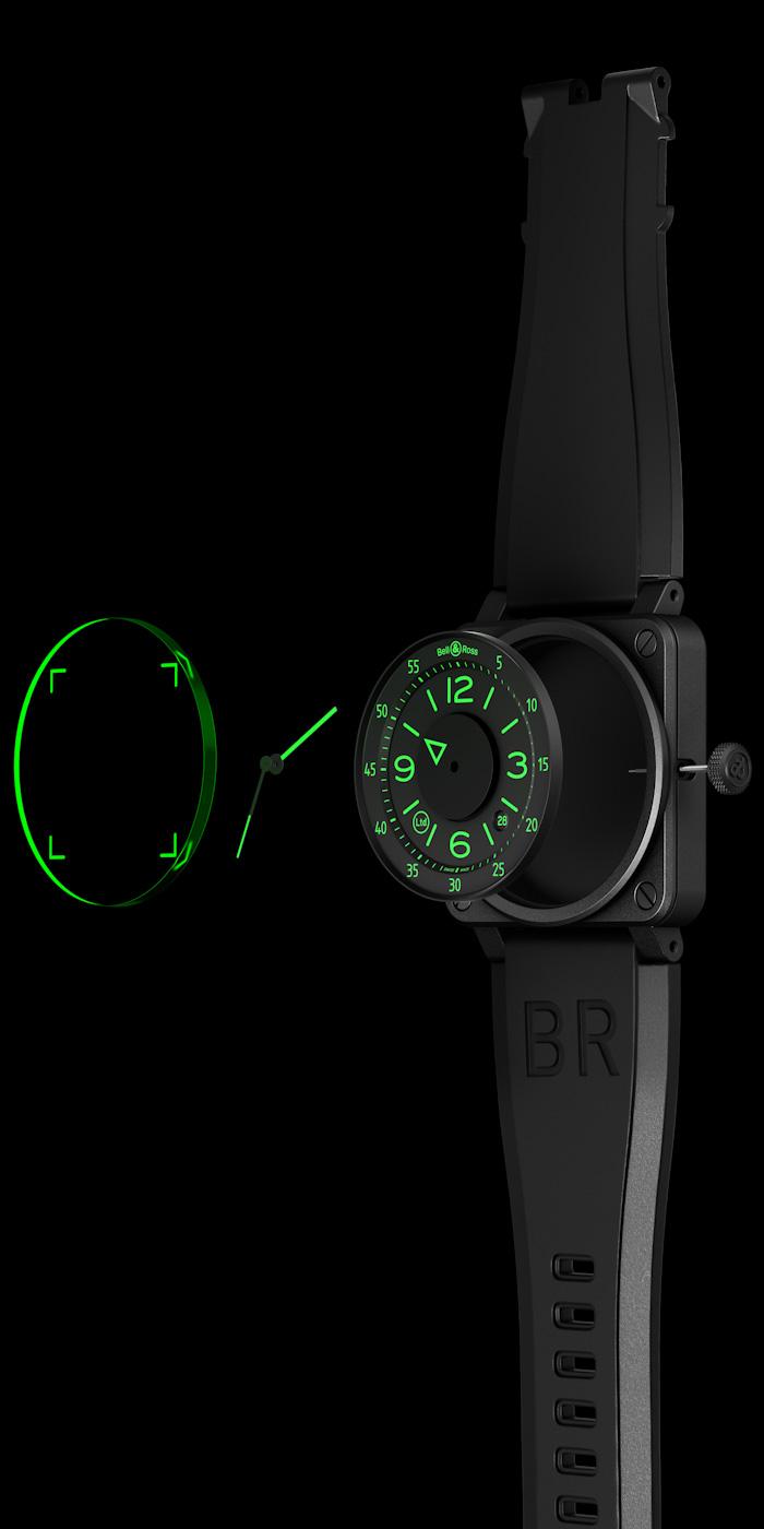 Bell-Ross BR 03-92 HUD Replica Orologi
