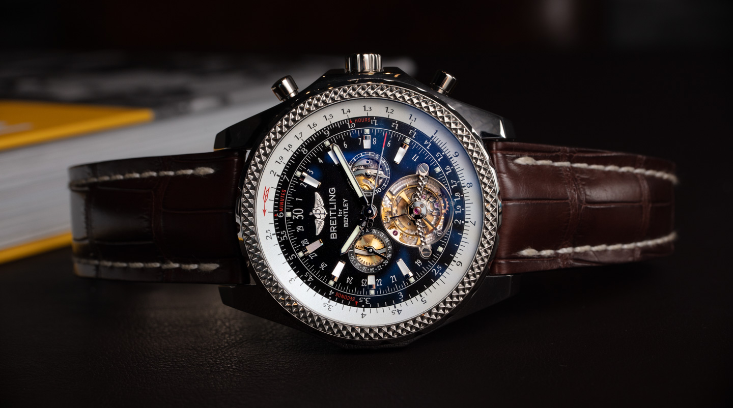 Breitling Bentley Mulliner Tourbillon Replica Orologi