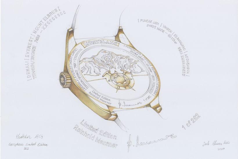 Replica Orologi Montblanc 1858 Messner